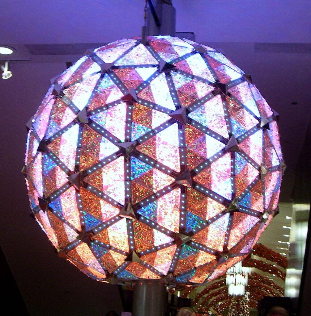 Kryształowa kula na Time Square.