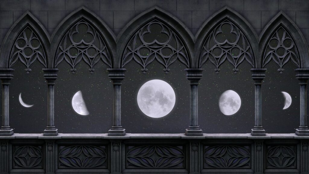 """Jeśli Księżyc kształtem przypomina literę """"D"""", to znaczy, że rośnie, czyli zbliża się do pełni. Jeśli przypomina literę """"C"""", to oznacza, że maleje, czyli zbliża się do nowiu."""