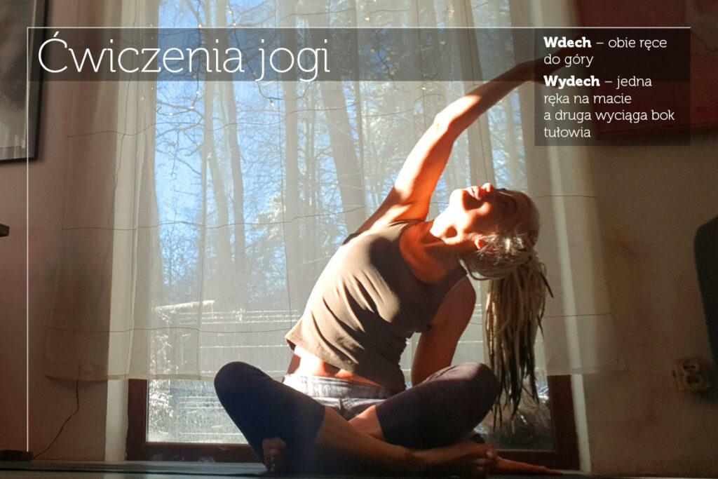 Ćwiczenia jogi na poranek Fot.: Marta Jedlińska